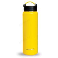 Термос металл ARCTICA 708-700 жёлтый