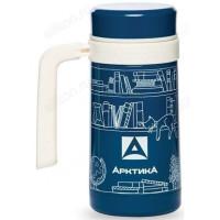 Термос-кружка ARCTICA 412-500 вакуумная синяя