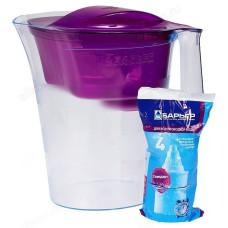 Фильтр-кувшин Барьер Твист пурпурный