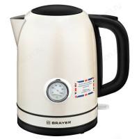 Чайник металлический BRAYER BR-1005YE (1,7л)