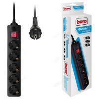 Фильтр сетевой Buro 500SH-1,8-B/W