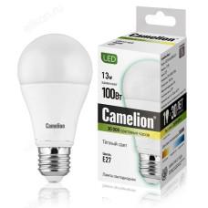Лампа светодиодная LED E27 A60 13W 830 Camelion