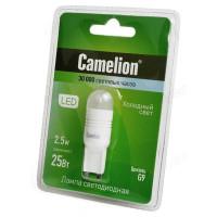 Лампа светодиодная LED G9 G9 2,5W 845 Camelion