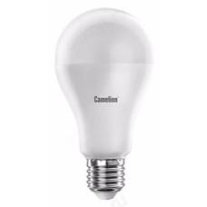 Лампа светодиодная LED E27 A60 15W 830 Camelion