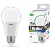 Лампа светодиодная LED E27 A60 15W 845 Camelion