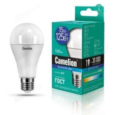 Лампа светодиодная LED E27 A60 15W 865 Camelion