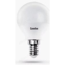 Лампа светодиодная LED E14 G45 8W 830 Camelion