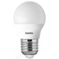 Лампа светодиодная LED E27 G45 8W 830 Camelion