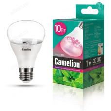 Лампа светодиодная LED E27 10W 220В Camelion PL BIO для растений