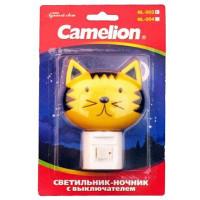 Ночник Camelion NL-003 Кошка