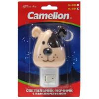 Ночник Camelion NL-004 Собака