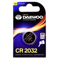 Батарейка 2032 CR 3V литиевая Daewoo