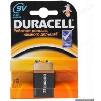 Батарейка 6LR61 Duracell