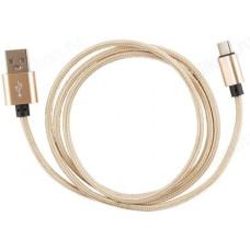Кабель ENERGY ET-01 USB Type-C 006278 Золотой