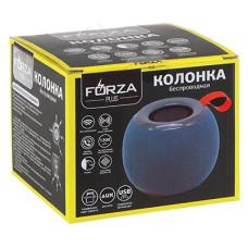 Акустика FORZA 443-040 Колонка беспроводная круглая, тканевая, 5 Вт, 1200мАч,