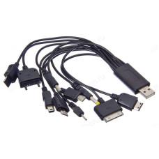 Кабель USB 10в1 Универс. FORZA 916-005