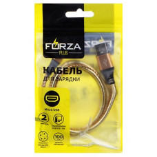 """Кабель micro USB - USB 1м 2А FORZA 916-224 оплетка """"звездное небо"""""""
