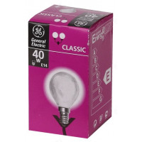 Лампа GENERAL ELECTRIC 14E 40Вт шар