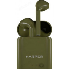 Гарнитура Bluetooth TWS HARPER HB-508 хаки/зеленый