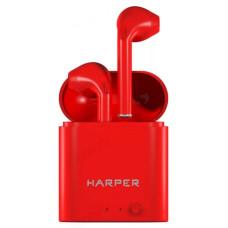 Гарнитура Bluetooth TWS HARPER HB-508 красный