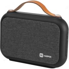 Акустика Bluetooth 12W HARPER PSPB-220 black