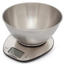 Весы кухонные LERAN EK4350 с мет.чашей электронные