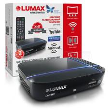 Антенный приемник TV (DVB-T2) Lumax DV1115HD