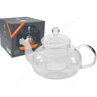 Чайник заварочный стекло AROMA 850мл 008246