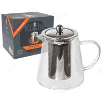 Чайник заварочный стекло AROMA 750 мл 008247