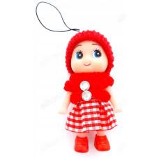 Сувенир брелок Кукла 8см