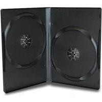 DVD box black двойной 14мм (Россия)