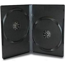 Box DVD black двойной 14мм (Россия)