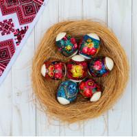 упаковка декоративная для яиц