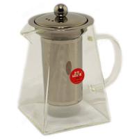 чайник заварочный стекло STP8499 0.75л квадр сито