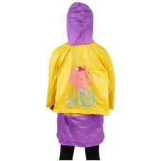 Дождевик детский YH-828 с отделом под ранец