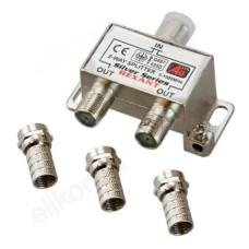 Сплиттер 2-WAY 5-1000 МГц Сигнал