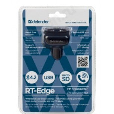 Модулятор DEFENDER RT-Edge BТ/HF USB 2.4 A