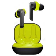 Гарнитура Bluetooth TWS HARPER HB-512 black/green