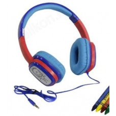 Наушники HARPER KIDS HN-302 Blue-Red