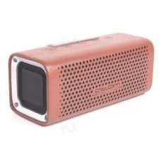 Акустика Bluetooth 12W Атом BS-07, 2*6Вт, 4000мАч, hands free, сопряжение, иск. кожа