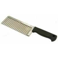 нож рифлёный для чипсов,овощей,сыра арт.6358