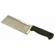 Нож рифлёный для чипсов, овощей, сыра арт.6358