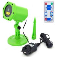 световая установка Огонек OG-LDS08 Зеленая