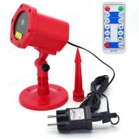 световая установка Огонек OG-LDS08 Красная