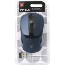 Мышь беспроводная Defender MM-605 синий, 3кн