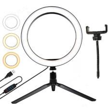Трипод Огонек OG-SMH01 лампа кольцевидная с триподом (26см)