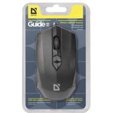Мышь Defender провод Guide MB-751 черный, USB 3кн, 1000dpi