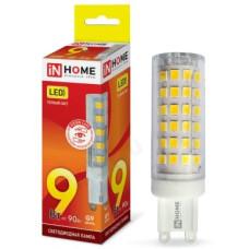 Лампа светодиодная LED G9 JCD VC 9W 230V 3000К 810Лм IN HOME