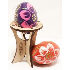 Подставка под яйцо Пасха дерево 8см