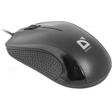 Мышь провод Defender Optimum MB-160 черный 3кн,1000dpi